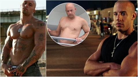"""The FAT and the Furious!"" FOTO ŞOCANT   Cum a ajuns să arate DURUL Vin Diesel"