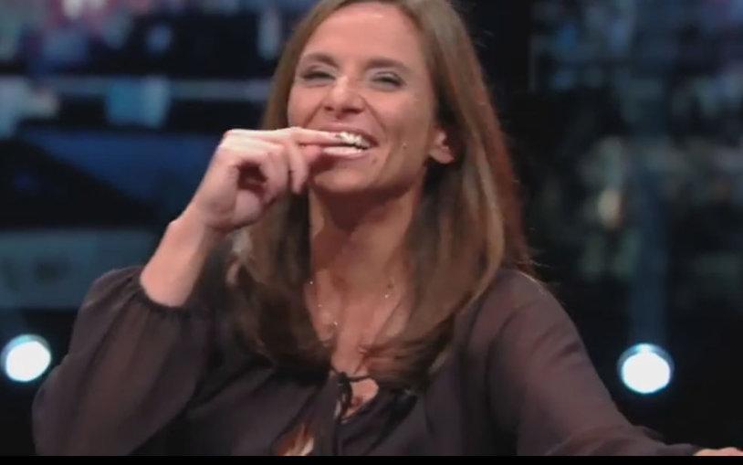 Tenis sau porno? VIDEO Roberta Vinci a făcut spectacol într-o emisiune TV. Cum a indus-o Şarapova în eroare :)
