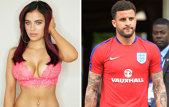 Penibil! Ce mesaje îi dădea Kyle Walker acestui model Playboy, când Anglia se pregătea de un meci crucial la Euro
