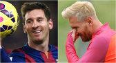 """Prima apariţie a """"noului"""" Messi la antrenamentele Barcelonei. Cum arată atacantul vopsit blond. FOTO"""