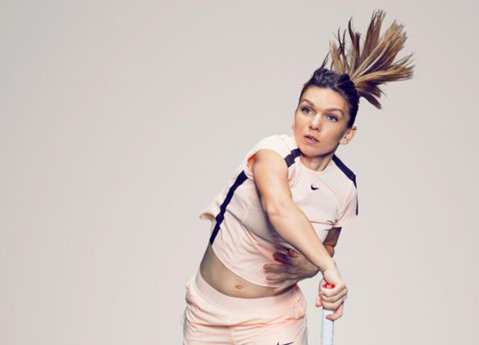 Aşa arată un pictorial de campioană. Simona Halep demonstrează că nu trebuie să renunţi la haine pentru a face senzaţie. Conceptul valorificat de WTA | GALERIE FOTO