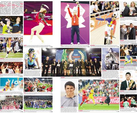 """20 de evenimente sportive pentru 12 luni! FOTO. Momentele anului 2012 şi """"harta"""" lui 2013 în sport"""