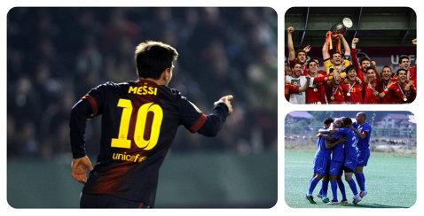 """FIFA nu """"miroase"""" blaturile. Un meci din Cupa României, lângă Giggs, naţionala Spaniei şi Messi, între superlativele lui 2012! Ce scriu despre partida halucinantă:"""