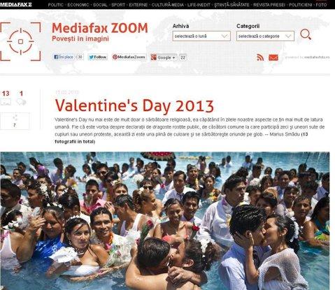 Mediafax.ro lansează Mediafax Zoom, o secţiune dedicată iubitorilor de fotografie