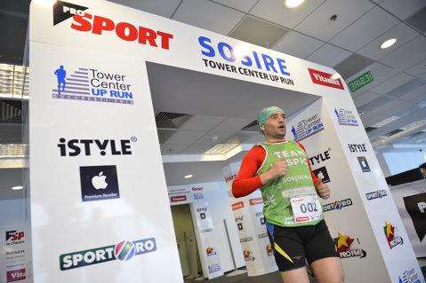 FOTO ProSport Tower Center Up Run: 2.41 - cel mai bun timp obţinut de un concurent! Listele câştigătorilor:
