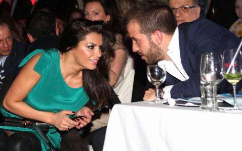Van der Vaart a postat pe twitter imagini cu el şi fosta soţie a lui Boulahrouz