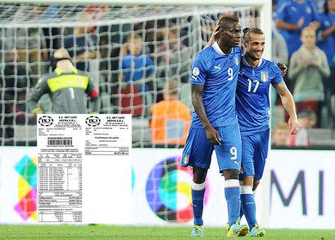 FABULOS: Balotelli i-a băgat în buzunare o avere unui român din Iaşi! Acesta este cel mai tare bilet de pariuri al lunii septembrie