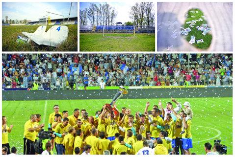 Fantomele trecutului! Chiar a existat Unirea Urziceni? Reportaj cu baza sportivă aflată în paragină a fostei campioane a României