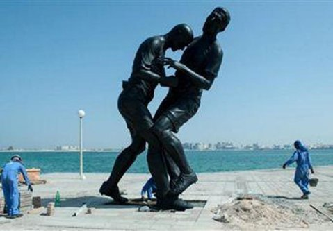 Interzis din motive religioase! Statuia lui Zidane nu este pe placul arabilor