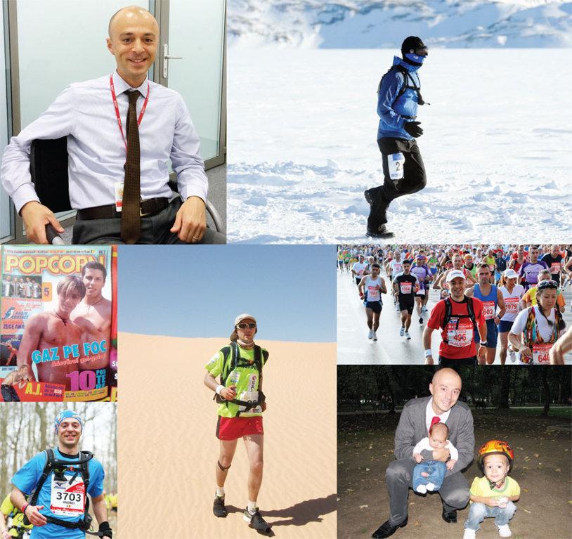 Corporatist, maratonist, recordman. Om normal. Povestea fascinantă a lui Andrei Roşu, solistul devenit la 33 de ani alergător de top