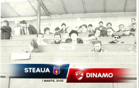Poveştile Derby-ului. Cum trăia presa un Steaua - Dinamo înainte de Revoluţie şi cronica partidei care nu s-a văzut la TV