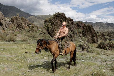 Mediafax ZOOM - Putin în imagini