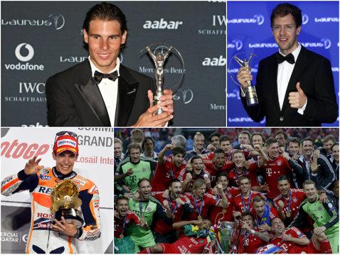 Nadal a intrat în istorie. Spaniolul a devenit primul om care a primit toate premiile individuale Laureus. Vettel, sportivul anului
