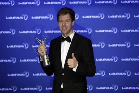 Sebastian Vettel şi Missy Franklin, câştigătorii premiilor Laureus
