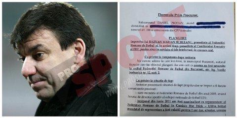 """EXCLUSIV - Plângerea penală a lui Daniel Prodan: """"Am luat cunoştinţă de situaţia de fapt ce va fi expusă din materialele apărute în presă"""""""