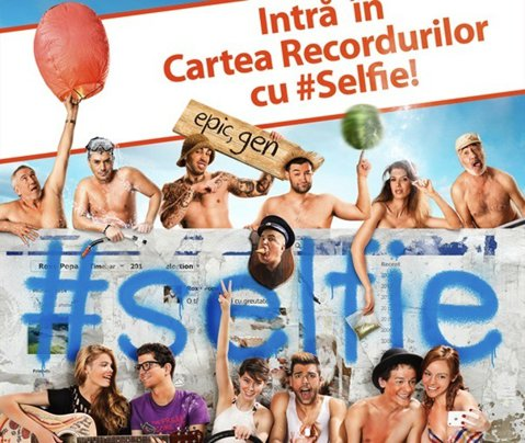 """Echipa filmului """"#Selfie"""" vrea să intre în Cartea Recordurilor cu cel mai mare selfie"""