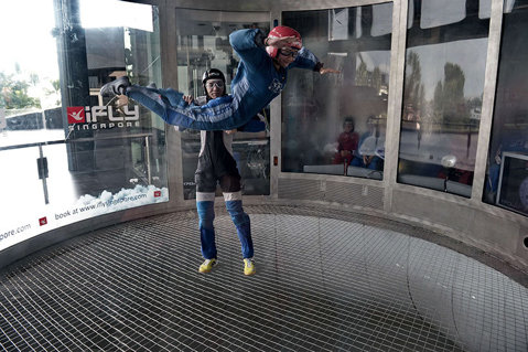 IMAGINEA ZILEI | În Singapore s-a construit un centru special dedicat amatorilor de sporturi extreme