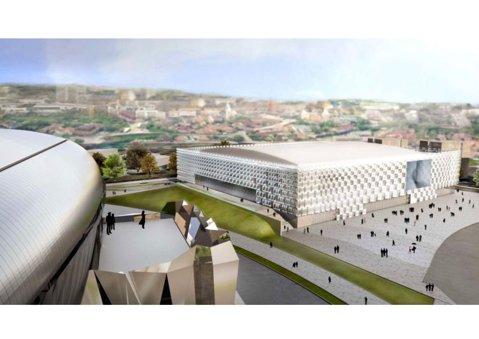 FOTO | Cel mai avangardist proiect din România este gata în proporţie de 95%. Cum arată construcţia de 88 de milioane de lei
