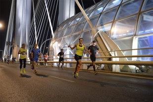 Bucharest Night Run, pe gustul veteranilor, dar şi al celor aflaţi la prima cursă. 500 de concurenţi la evenimentul ProSport   FOTO