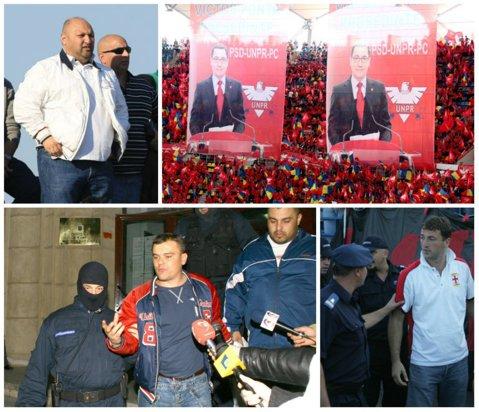 """Galerii de fotbal sau armate de mercenari? """"Ultraşii"""" lui Dinamo sunt folosiţi în scopuri politice, cei ai Stelei în răfuielile finanţatorului. Petrolul îşi cumpără loialitatea, iar Rapid a îmbogăţit liderii suporterilor"""