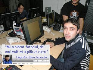 """D'ale lu' Hagiluţu. Ionuţ Luţu şi-a deschis pagină de Facebook şi face urări: """"La mulţi ani, Galata! La mulţi ani fără d-aştia ca mine!"""""""