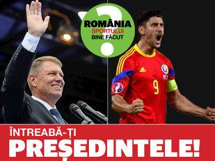 """Vom avea România sportului bine făcut? Campionii îşi întreabă preşedintele. Ciprian Marica îl provoacă pe Klaus Iohannis: """"Dumneavoastră aţi primi la Cotroceni o echipă sau un sportiv după o înfrângere?"""""""