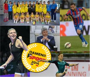 Oamenii ProSport 2014! Celebrăm împreună elita sportului românesc. Votează-ţi aici campionii