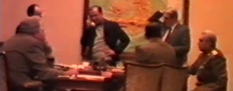 EXCLUSIV | Imagini video în premieră din momentul constituirii Consiliului Frontului Salvării Naţionale, în 22 decembrie 1989