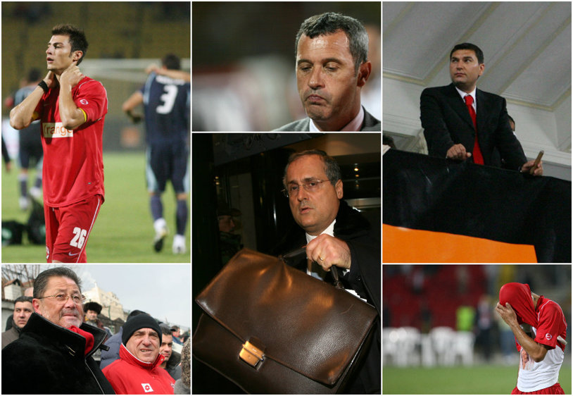 """Lanţul slăbiciunilor la Dinamo - Lazio 1-3. Fost acţionar: """"Dinu şi Borcea au negociat blatul"""". Dinu: """"Acţionarul e Cohn şi e o canalie. Vali Năstase a trântit!"""". Năstase: """"Întrebaţi-l pe Rednic"""". Rednic: """"A fost ceva dubios"""""""