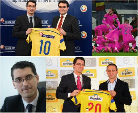 Obiective nerealiste pentru Burleanu. Deşi FRF se laudă cu noii sponsori, anul 2015 va fi terminat cu pierderi de 500.000 de euro. Angajaţii federaţiei sunt plătiţi cu 3,1 milioane de euro pe an