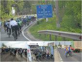 VIDEO | S-a dat startul la MAREA PEDALARE. 150 de biciclişti au pornit spre Vama Veche. Cel mai tânăr participant şi-a întrecut tatăl