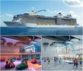 REPORTAJ | Cum poţi face sport în mijlocul mării. Al treilea vas de croazieră ca mărime din lume, Anthem of the Seas, are o sală de sport multifuncţională, o pistă de atletism şi bazine de înot. Rolul roboţilor pe vas