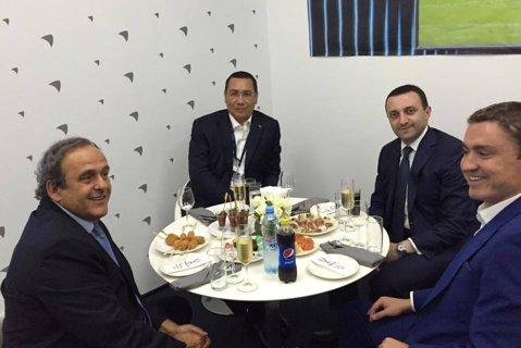 """Ponta: """"I-am mulţumit lui Platini pentru sprijinul acordat în organizarea Campionatului European 2020"""""""