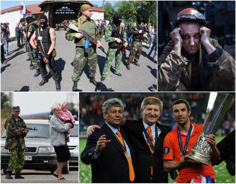 Lord of War. Rinat Ahmetov e de ambele părţi ale războiului din Ucraina. Patronul lui Şahtior are afaceri atât cu separatiştii pro-ruşi, cât şi cu guvernul dependent de banii companiilor mogulului