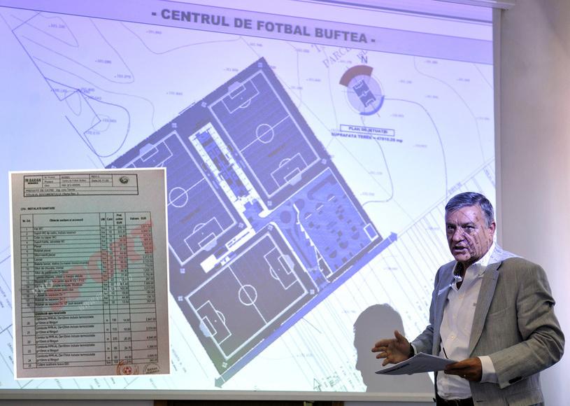 EXCLUSIV | Ţinta e Mircea Sandu! Procurorii DIICOT confirmă investigaţia ProSport: costurile bazei FRF de la Buftea au fost umflate. Proiectarea hotelului a costat 600.000 de euro, de 20 de ori peste preţul pieţei