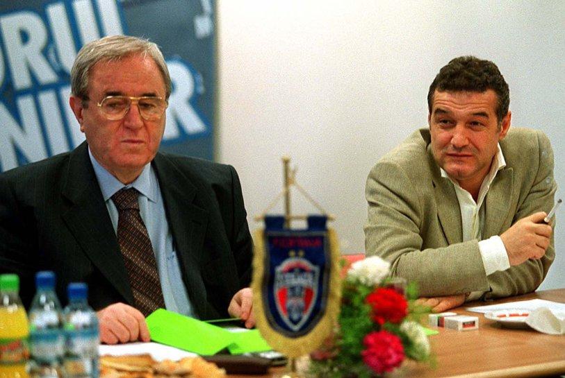 """Dovada că Becali minte şi Armata n-a acceptat niciodată pierderea echipei de fotbal. Comandantul CSA Steaua pentru ProSport, în 2001: """"Poartă ilegal emblema. Sigla e doar a Armatei. S-au născut în 1998 şi se numesc din întâmplare FC Steaua"""""""