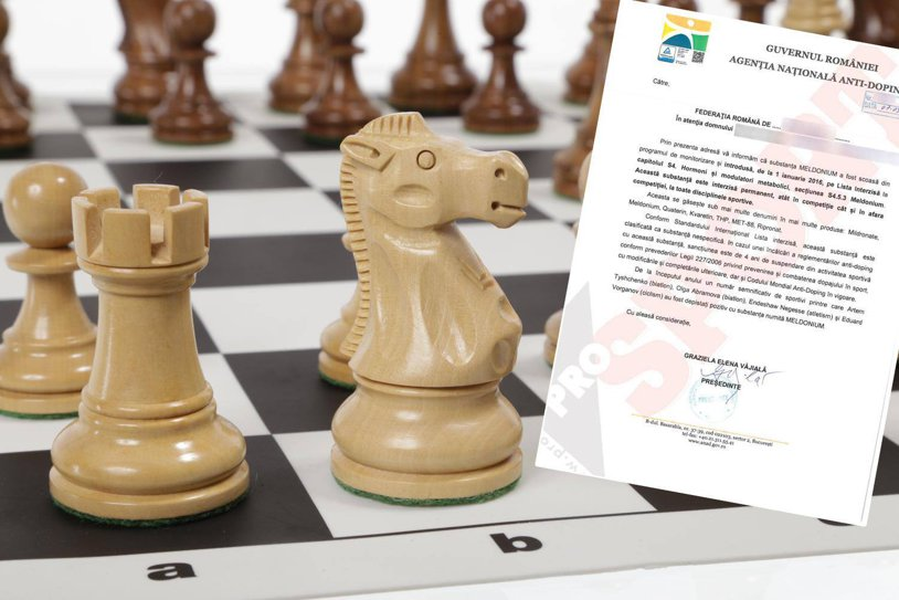 Efectul Şarapova produce hohote de râs în România: federaţiile de şah şi bridge, avertizate de Agenţia Naţională Anti-Doping că meldonium e interzis. Cazuri incredibile de dopaj la noi în ţară, la şah şi bridge
