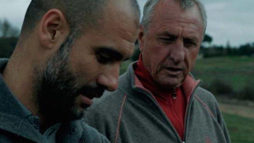 """Omagiul lui Pep Guardiola pentru Cruyff: """"El explica totul invers. Ne-a deschis ochii către o lume fascinantă, un film, un şoc constant"""""""