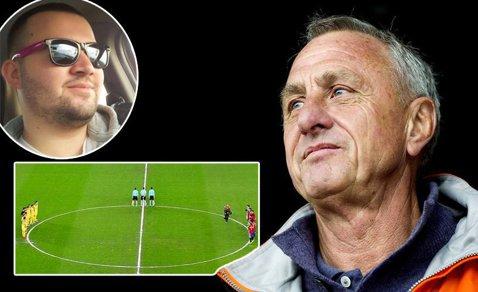 """Îşi cere scuze pentru că a profanat memoria lui Johan Cruyff, pe Cluj Arena: """"Mi-a fost ruşine când stadionul a aplaudat să acopere strigătul meu"""""""