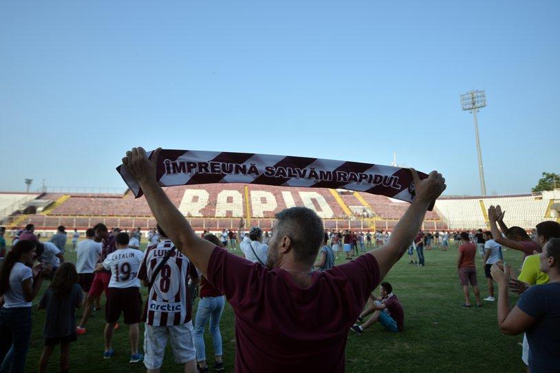 """Ce Rapid joacă pe Giuleşti? AFC a trimis cerere la Clubul Sportiv, dar e acuzată că nu are palmaresul, că e înglodată în datorii şi e legată de Copos. """"Aristocraţii"""" s-au asociat cu Mişcarea Feroviară şi CS Rapid"""