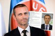 """Cine e cu adevărat Ceferin: investigaţia care l-a iritat pe misteriosul nou preşedinte UEFA. """"Şi-a falsificat CV-ul şi calificările din fotbal"""". Slovenul ameninţă cu tribunalul"""