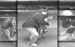 Tentativă de răpire surprinsă la un turneu de lupte din SUA. Momentul în care un bărbat încearcă să fugă cu un băieţel de opt ani, surprins de camerele de luat vederi