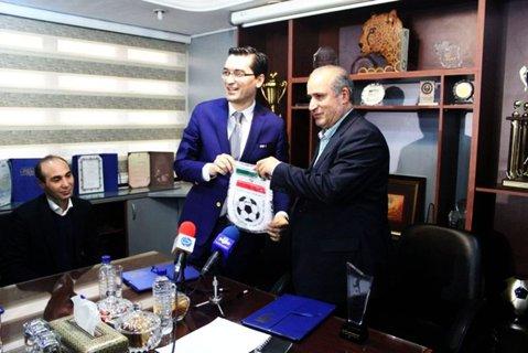 """Parteneriat surpriză """"parafat"""" de Burleanu la Teheran. FRF s-a """"înfrăţit"""" cu Federaţia de Fotbal din Iran"""