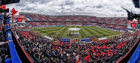 FOTO | Imagini incredibile după Atletico - Real Madrid 2-1. Sute de scaune au dispărut din tribune. Explicaţiile suporterilor