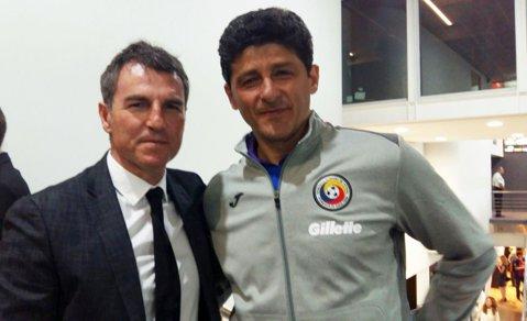 FOTO | Întâlnire între Belodedici şi omul care stabileşte pe cine transferă FC Barcelona în acest sezon