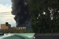 Imaginea articolului Incendiu devastator izbucnit lângă Therme, Bucureşti! FOTO INCREDIBIL! Cum a fost SURPRINS ION ŢIRIAC