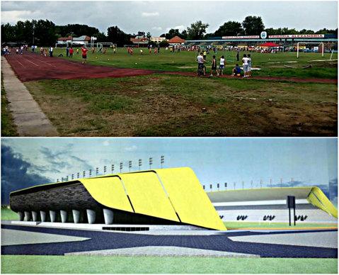 """EPISODUL 1   A opta minune a lumii. Statul face în Teleorman un stadion cu facilităţi de Liga 1, dar cu cel mai mare preţ/loc din România, după Arena Naţională. Explicaţia guvernului: construcţia din Alexandria """"va creşte contribuţia turismului"""". În acest timp, Arad şi Piteşti sunt pe """"hold"""""""