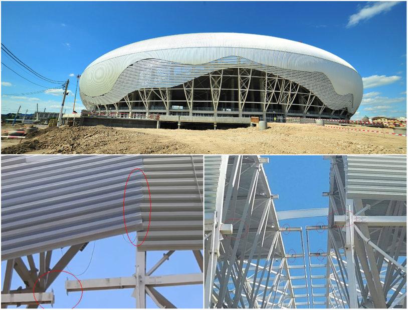 """Doi ingineri care ridică stadioane în Europa fac o analiză devastatoare a arenei de 52 de milioane din Craiova: """"Arcele nu stau în ax. Au încercat să ascundă problemele de geometrie. Siguranţa poate fi afectată. Cine îşi asumă recepţia?"""". Răspunsul constructorului"""