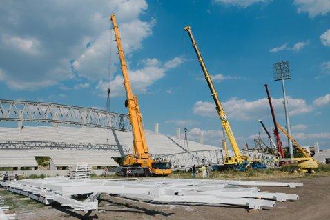 """INTERVIU   Stadionul din Arad se face pe banii oraşului. Primarul Gheorghe Falcă acuză răfuieli politice: """"Am primit în 2016 finanţare de la CNI, dar nu e activată. Noi suntem un bastion care nu primeşte bani de la guvernările PSD"""". Reprezentantul CNI are o altă versiune"""