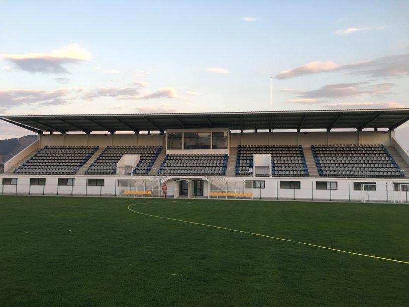REPORTAJ | Stadion de un milion de euro la Liga a 5-a din România. FOTO | Cum arată arena